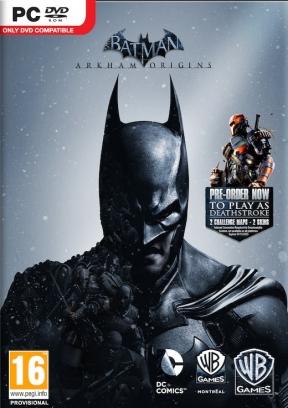 Batman: Arkham Origins PC Cover