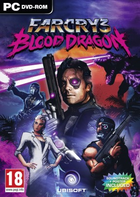 Far Cry 3 Blood Dragon PC Cover