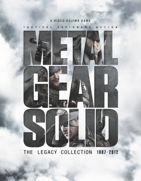 Metal Gear Solid: The Legacy Collection PS3 Cover