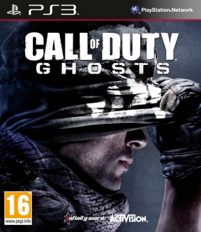 Call of Duty: Ghosts PS3 Cover