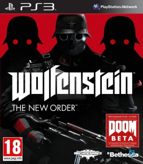 Wolfenstein: The New Order PS3 Cover