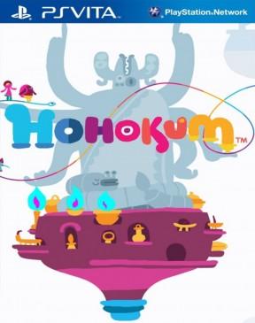 Hohokum PS Vita Cover