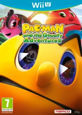 PAC-MAN e le Avventure Mostruose Wii U Cover