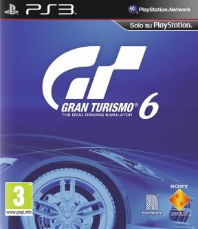 Gran Turismo 6 PS3 Cover