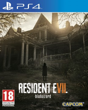 Resident Evil 7 PS4 Cover