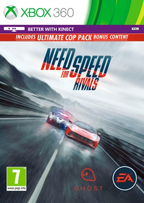 Need for Speed Rivals Xbox 360 Cover