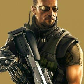 Deus Ex: The Fall iPad Cover