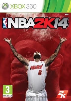 NBA 2K14 Xbox 360 Cover