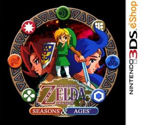 The Legend of Zelda: Oracle of Seasons/Ages 3DS Cover