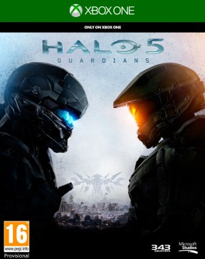 Halo 5: Guardians Xbox One Cover
