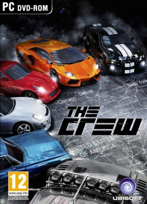 The Crew PC Cover