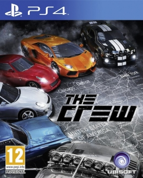 The Crew PS4 Cover