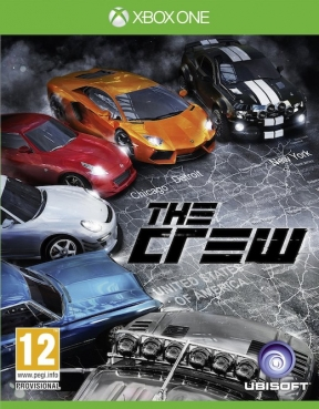 The Crew Xbox One Cover