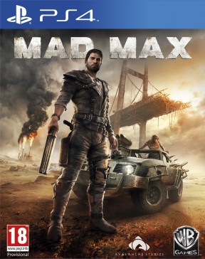 Mad Max PS4 Cover