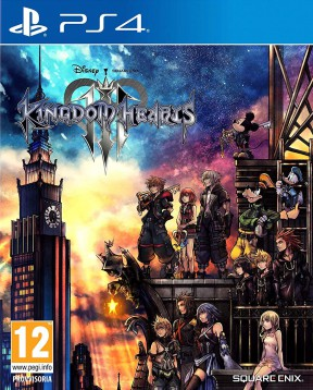 Kingdom Hearts III PS4 Cover