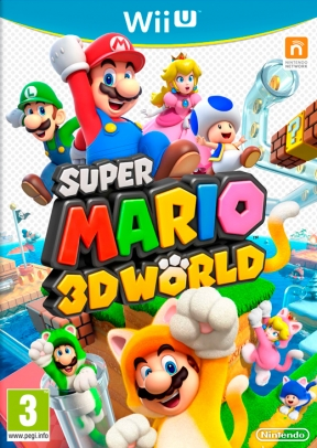Super Mario 3D World Wii U Cover