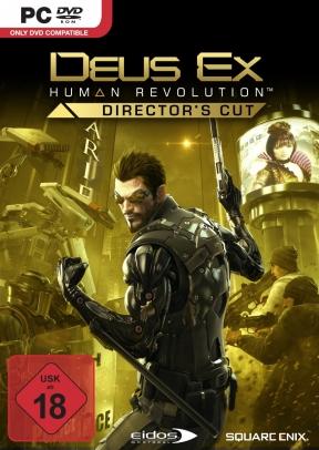 Deus Ex: Human Revolution - Director's Cut PC Cover