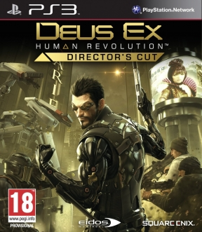 Deus Ex: Human Revolution - Director's Cut PS3 Cover