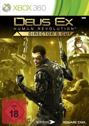 Deus Ex: Human Revolution - Director's Cut Xbox 360 Cover