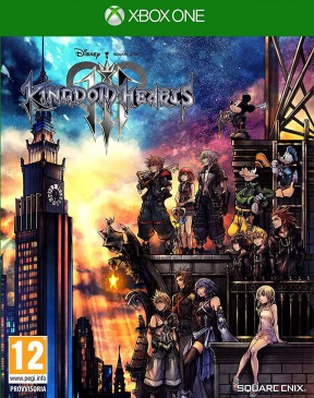 Kingdom Hearts III Xbox One Cover