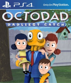 Octodad: Dadliest Catch PS4 Cover