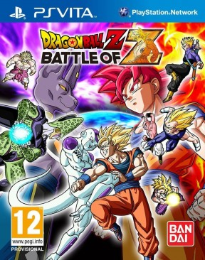 Dragon Ball Z: Battle of Z PS Vita Cover