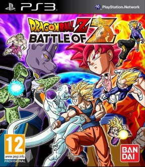 Dragon Ball Z: Battle of Z PS3 Cover