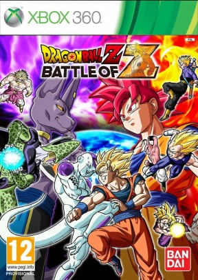 Dragon Ball Z: Battle of Z Xbox 360 Cover