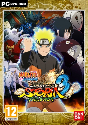 Naruto Shippuden: Ultimate Ninja Storm 3 Full Burst PC Cover