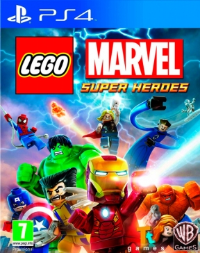 LEGO Marvel Super Heroes PS4 Cover