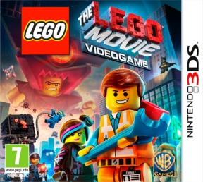 The LEGO Movie Videogame 3DS Cover
