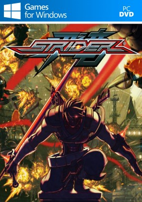 Strider PC Cover