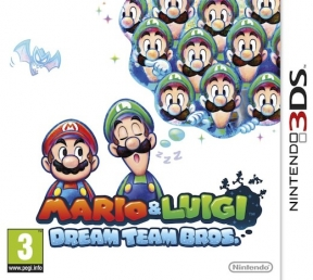 Mario & Luigi: Dream team Bros. 3DS Cover