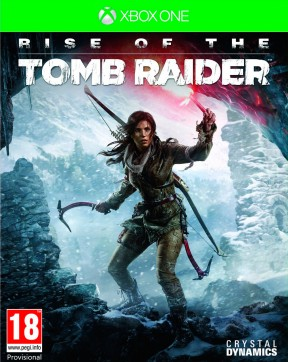 Rise of the Tomb Raider Xbox One Cover
