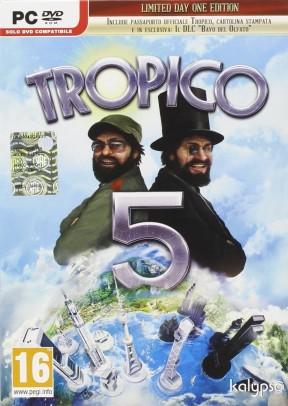 Tropico 5 PC Cover