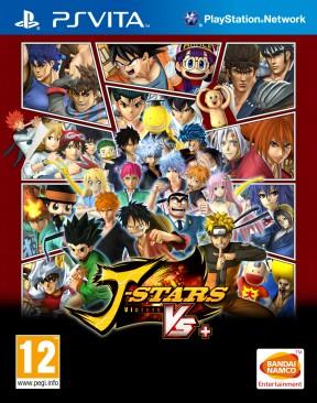 J-Stars Victory Vs+ PS Vita Cover