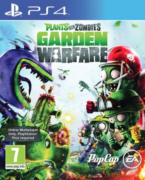 Plants vs Zombies: Garden Warfare PS4 Cover
