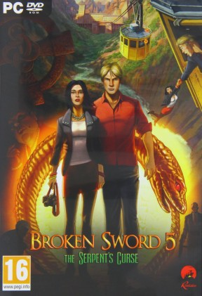 Broken Sword 5: La Maledizione del Serpente PC Cover