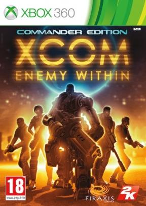 XCOM: Enemy Within Xbox 360 Cover