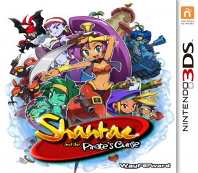 Shantae and the Pirate's Curse 3DS Cover