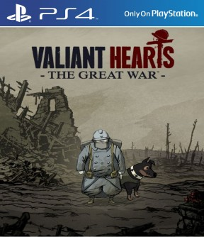 Valiant Hearts: The Great War PS4 Cover