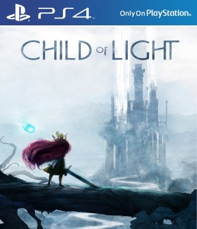 Child of Light PS4 Cover