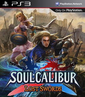 Soul Calibur: Lost Swords PS3 Cover