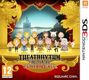 Theatrhythm Final Fantasy: Curtain Call 3DS Cover