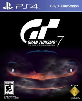 Gran Turismo 7 PS4 Cover