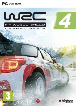 WRC 4: Fia World Rally Championship PC Cover