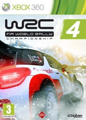 WRC 4: Fia World Rally Championship Xbox 360 Cover