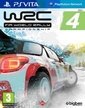 WRC 4: Fia World Rally Championship PS Vita Cover