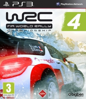 WRC 4: Fia World Rally Championship PS3 Cover