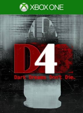 D4: Dark Dreams Don't Die Xbox One Cover